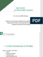 Labcourse Arcmap Tutorial