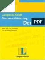 Langenscheidt Grammatiktraining Deutsch