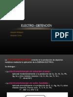 Electro Obtencion 2