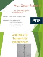 Antenas de Transmision Inhalambricas