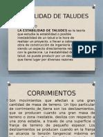 Expo DE TALUDES