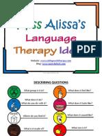 Speech Therapy Free Expressive Language Program