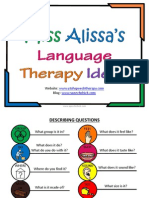 Speech Therapy Free Expressive Language Program