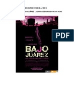 Herramienta Didactica Pelicula Bajo Juarez