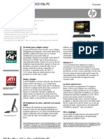 HP Pavillion All-In-One MS210la PC