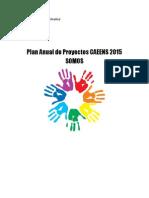 Proyecto Accion Social SOMOS CAEENS 2015 FINAL