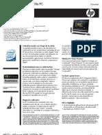 HP TouchSmart 600-1020la PC