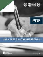 CSCS Exam Candidate Handbook