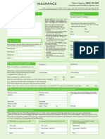 Pet Claims Form 1