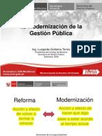 Modernizacin Del Estado y Gestion Publica