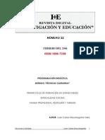 Programacion Didactica Modulo Tecnicas Culinarias Autor Juan Carlos Maurolagoitia Vela