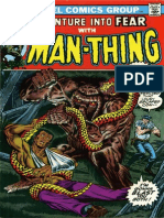 Adventure Into Fear 12 the Man-Thing