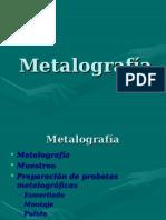Metalografía Tratamiento Mecánico