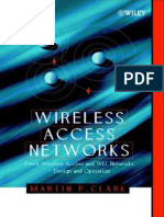 Wireless Access Networks Fixed Wireless Access and WLL Networks Design and Operation