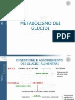 3-Metabolismo Dei Glucidi