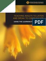 Learning Progressions Listen Speak