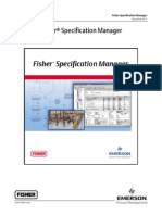 Fisher® Specification Manager Manual.pdf