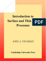 Introduction to Surface and Thin Films