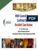 Confined Space Accident Case Studies