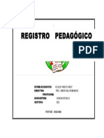 Caratula para Registro