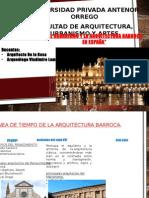 Arquitectura Barroca España
