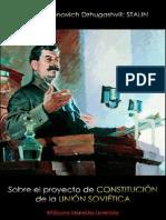 Stalin; Sobre el proyecto de Constitución de la URSS, 1936.pdf