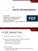 Introduction TO PROGRAMING
