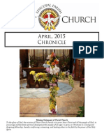 Christ Church Eureka April Chronicle 2015