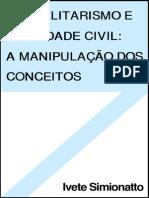 Globalitarismo e Sociedade Civil_A Manipulação Dos Conceitos