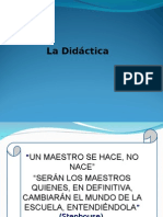 Didactica MONICA TRIGOS Exposicion