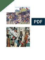 Laminas de La Guerra de Cien Años
