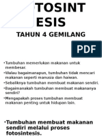 Fotosintesis Slide Tahun 4 KSSR