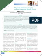 Peranan Magnetic Resonance Imaging Dalam Diagnosis Nyeri Punggung Bawah Kronik