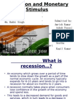 What is Recession