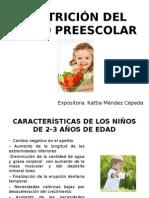 Nutrición Del Niño Preescolar