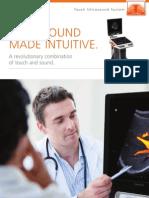 Brochure Touch Ultrasound 201412