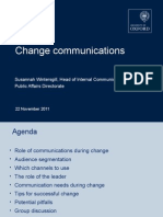 Change Communications Workshop