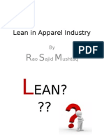 Lean in Apparel Industry