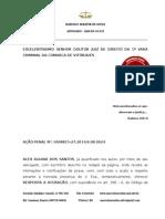 Resposta a Acusação Alex Dos Santos