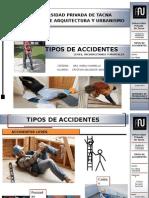 accidentes en obra