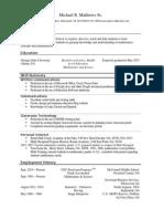 mrm sr resume march 15