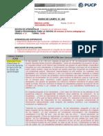 Diario de Campo Modelo