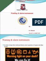 Warning & Alarming Instrument 5 & 6