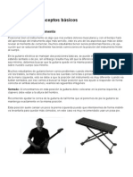Leccion 1 para guitarra
