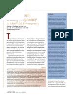 Thyroid Storm in Woman Pregnancy