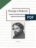 Poezja i Dobroc Klasowa Antologia Analiz Poezji Norwida