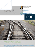 Kendo UI vs AngularJS