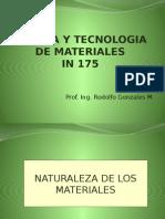 1-Ciencia y Tecnologia de Materiales -Unidad 1