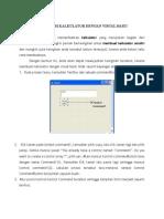 Membuat Program Kalkulator Dengan Visual Basic