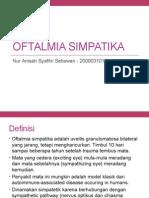 Oftalmia simpatika